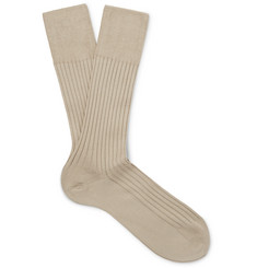Falke - No. 13 Ribbed Piuma Cotton Socks