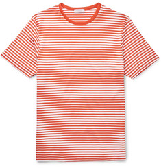 Sunspel Slim-Fit Striped Cotton-Jersey T-Shirt