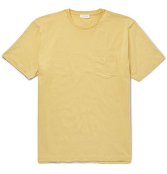 Sunspel Slim-Fit Slub Cotton-Jersey T-Shirt