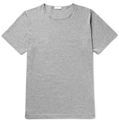 Sunspel Mélange Cotton-Jersey T-Shirt
