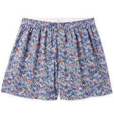 Sunspel Liberty Floral-Print Cotton Boxers