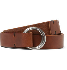 Oliver Spencer 2.5cm Brown Dock Leather Belt