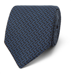 Oliver Spencer 7.5cm Cromer Cotton Tie