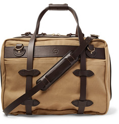 Filson - Pullman Leather-Trimmed Twill Holdall