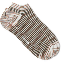 Missoni - Space-Dyed Cotton-Blend Socks