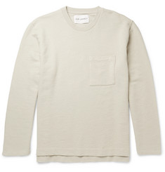 Our Legacy Brushed Loopback Cotton and Linen-Blend Jersey Sweatshirt