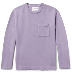 Our Legacy Cotton and Linen-Blend Sweatshirt
