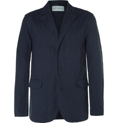 Our Legacy - Blue Archive Unstructured Linen and Cotton-Blend Blazer