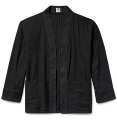 Sasquatchfabrix. Sashiko-Stitched Cotton Hanten Jacket