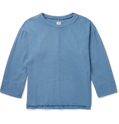 Sasquatchfabrix. Sashiko-Stitched Cotton Sweatshirt