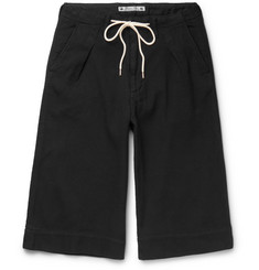 Sasquatchfabrix. Sashiko-Stitched Cotton Shorts