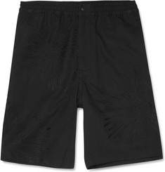 Sasquatchfabrix. Fireworks Embroidered Cotton and Linen-Blend Shorts