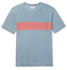 Faherty Slim-Fit Striped Cotton T-Shirt