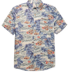 Faherty - Printed Voile Shirt