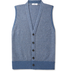 Inis Meáin Cotton, Cashmere, Silk and Linen-Blend Vest
