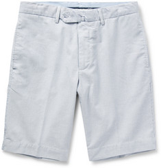 Hackett Striped Cotton Shorts