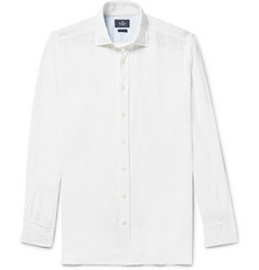 Hackett Slim-Fit Slub Linen Shirt