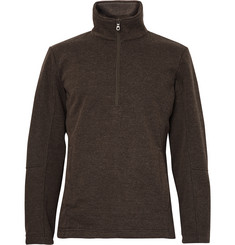Musto Shooting - Fleece-Back Jersey Half-Zip Sweater