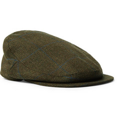 Musto Shooting - Checked Wool-Blend Tweed Flat Cap