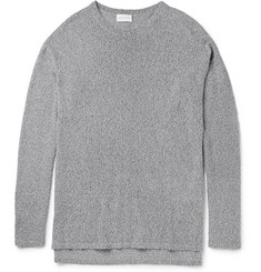 John Elliott Pigtail Mercer Mélange Cotton-Blend Sweater