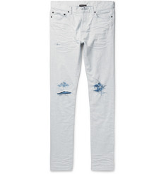 John Elliott - The Cast 2 Slim-Fit Tapered Distressed Denim Jeans