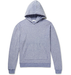 John Elliott Pile Mélange Cotton-Blend Terry Hoodie