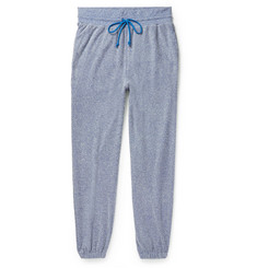 John Elliott Pile Mélange Cotton-Blend Terry Sweatpants