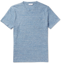 Richard James Slim-Fit Mélange Cotton-Jersey T-Shirt