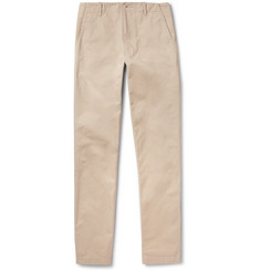 Richard James Brushed-Cotton Twill Chinos