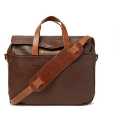 RRL A-2 Leather Briefcase