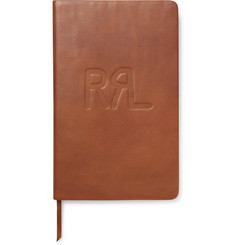 RRL - Riley Embossed Leather Notebook