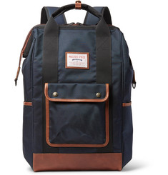 Master-Piece Gabatte Leather-Trimmed CORDURA Backpack