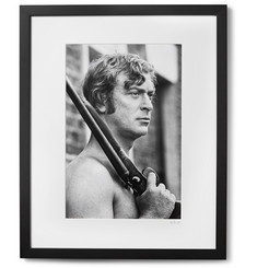 "Sonic Editions - Framed Michael Caine Get Carter Print, 17"" x 21"""