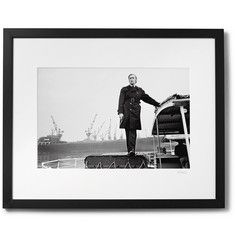 "Sonic Editions - Framed Michael Caine as Jack Carter Print, 17"" x 21"""