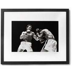 "Sonic Editions - Framed Muhammad Ali, ""What's My Name?"" Giclée Print, 16"" x 20"""