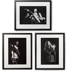 "Sonic Editions - Framed 27 Club Triptych Prints, 17"" x 21"""