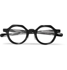 Max Pittion Diplomat Round-Frame Acetate Optical Glasses
