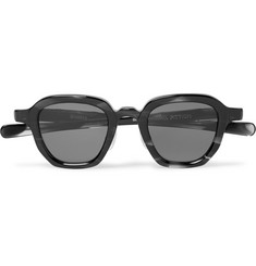 Max Pittion Bronson Square-Frame Acetate Sunglasses