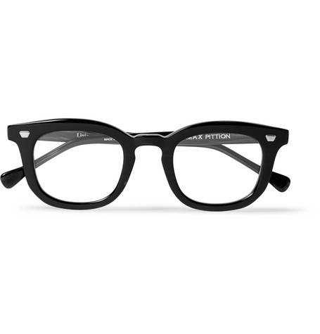 max pittion male max pittion livingston acetate optical glasses clear