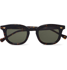 Max Pittion Livingston Tortoiseshell Acetate Sunglasses