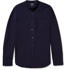 Todd Snyder Slim-Fit Grandad-Collar Cotton Shirt
