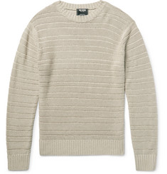 Todd Snyder Drop-Stitched Linen Sweater