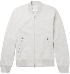 Reigning Champ Loopback Cotton-Jersey Varsity Jacket