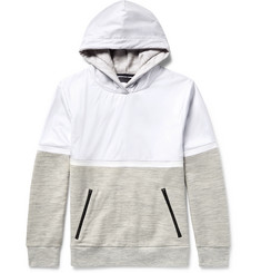Under Armour Sportswear Pivot Shell and Loopback Jersey Hoodie