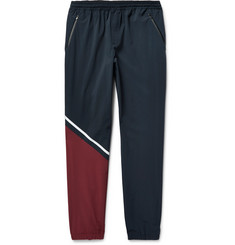 Under Armour Sportswear Tumble Colour-Block Stretch-Shell Sweatpants