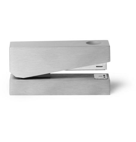 tom dixon male tom dixon cube brushed silvertone cube stapler silver