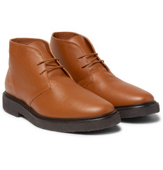 Common Projects - Saffiano Leather Desert Boots
