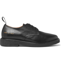 Common Projects Cadet Saffiano Leather Derby Shoes