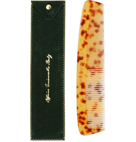 Tortoiseshell Acetate Dressing Comb by Buly 1803
