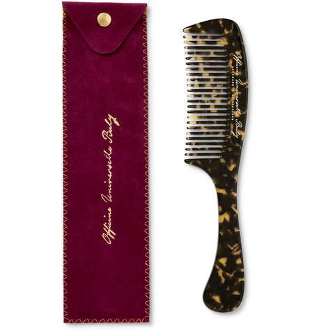 Tortoiseshell Acetate Handle Comb by Buly 1803
